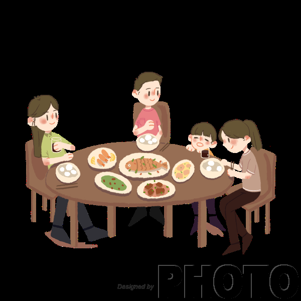 —Pngtree—home dinner tableware food tables_4288571.png